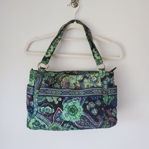 Vera Bradley | Stephanie Bag in Blue Rhapsody